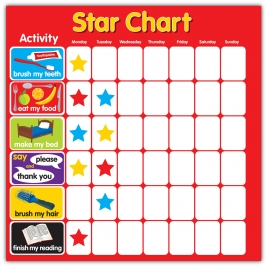 Magnetic Reward Sar Chart Square